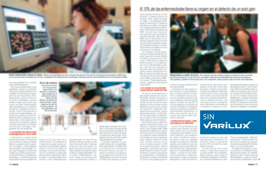 Marie Claire\' y \'Muy Interesante\' desenfocan sus contenidos para Varilux