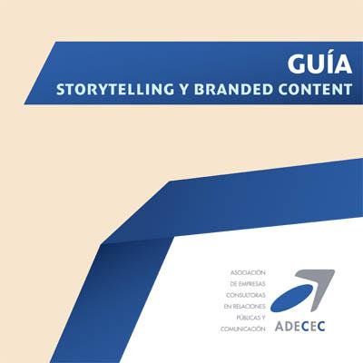 Portada de la Guía Storytelling y Branded Content