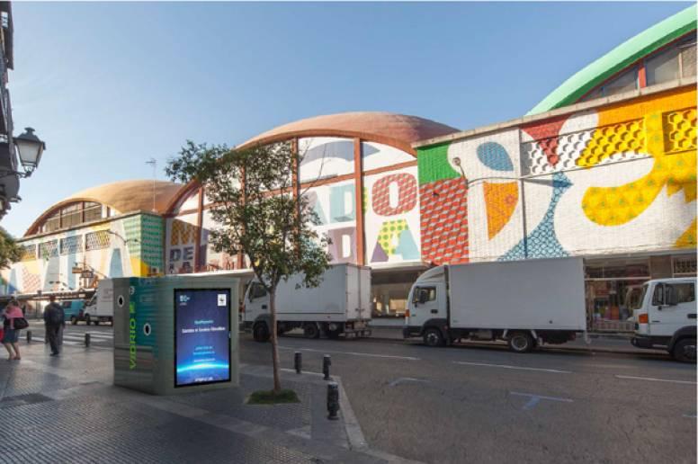 Clear channel gestionar el nuevo mobiliario urbano de la - Mobiliario urbano madrid ...